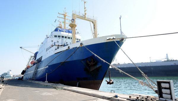 Le propriétaire du chalutier russe arraisonné au Sénégal, prêt à payer l'amende
