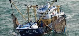 Retour sur les côtes marocaines, des bateaux de pêche de l'UE