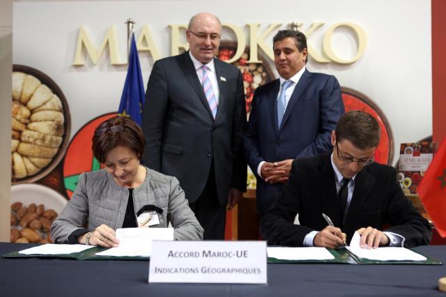 Accord sur la protection des IG entre Rabat et Bruxelles