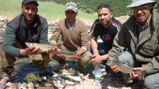 Maroc-Pêche: Ouverture de la pêche dans les eaux continentales pour la saison 2017-2018