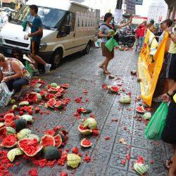 Espagne-Agriculture: Valencia connaît l'une de ses pires campagnes de fruits et légumes