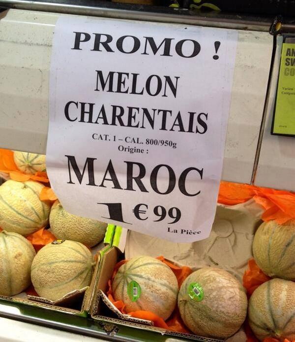 Le Maroc 5e fournisseur de melons du marché communautaire européen