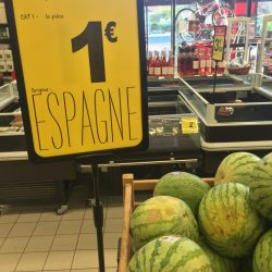 Les pastèques espagnoles confrontées à une rude concurrence des prix sur le marché européen
