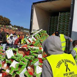 Des camions chargés de produits agricoles marocains vandalisés en Espagne